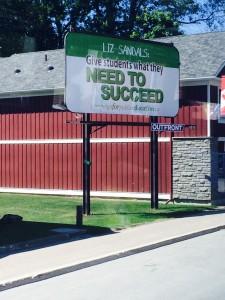 Sandels billboard collingwood