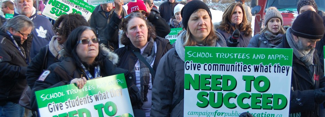 community rallies to save schools