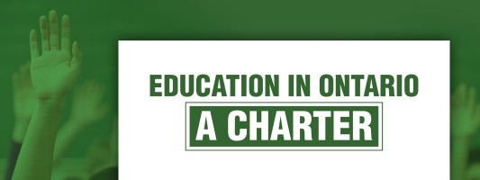 Education Charter – a vision for Ontario