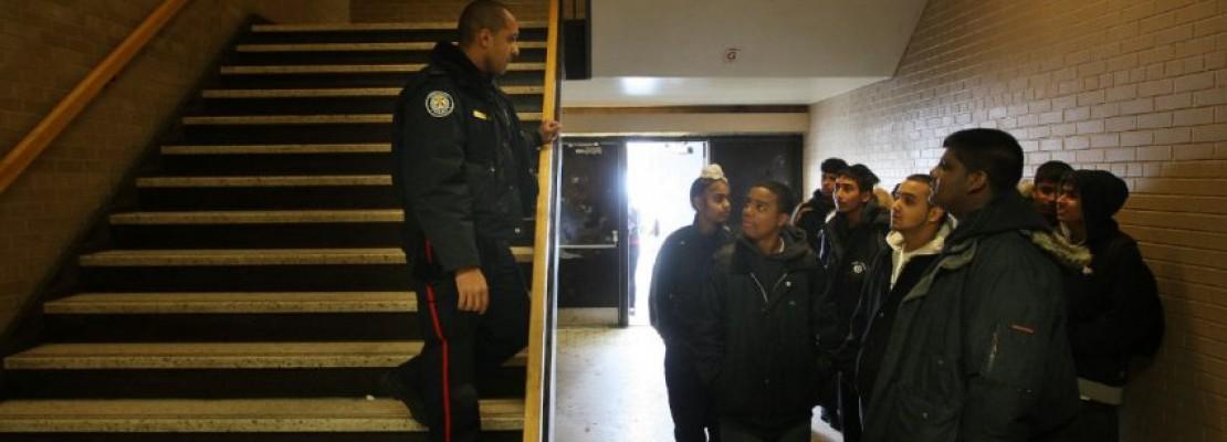 Cops out of schools?